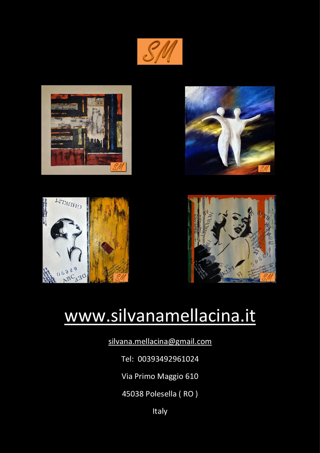 www.silvanamellacina.it-...quadri, fashion e altro...